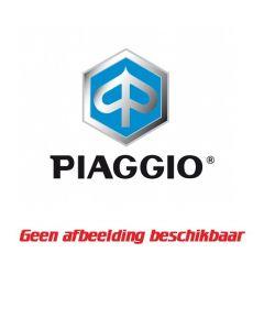 Piaggio Rugsteun Topkoffer 37 Liter Zwart Met Blauwe Stiksels Beverly 350