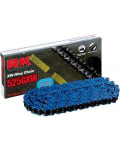 RK Ketting XW-Ring Blauw NB525GXW 114