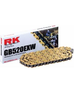 RK Ketting XW-Ring 118 Goud - GB520EXW