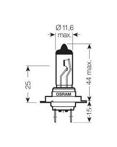 Osram Lamp 12V 55W H7