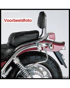 Hepco&Becker Sissybar zonder rekje chroom Honda VT750C2