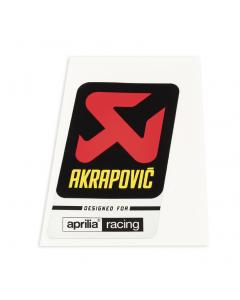 Akrapovic Uitlaatsticker Tuono V4 1100 RR