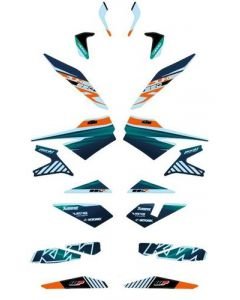 KTM Factory Graphics Kit Stickerset 890 Duke R