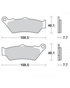 Moto-Master Remblokken Voor Sinter 403301
