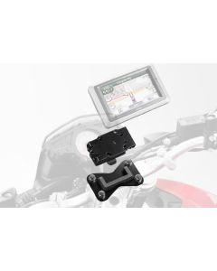 SW-Motech GPS Houder Quick Lock Moto Guzzi Stelvio 1200 4V