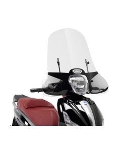 GIVI 5606A Windscherm Transparant Piaggio Beverly 125/300ie-350
