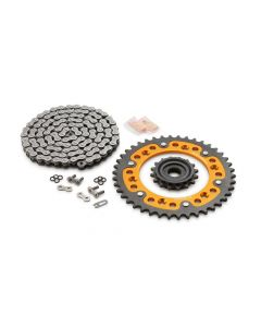 KTM Kettingset 16T/42T Orange 690 SMC/R