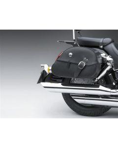 Honda Lederen Zadeltassen 18L Glad