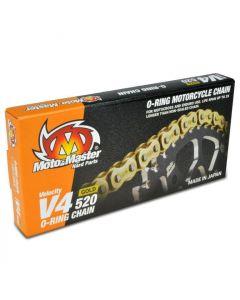 Moto Master V4 Ketting O-Ring 120 Goud