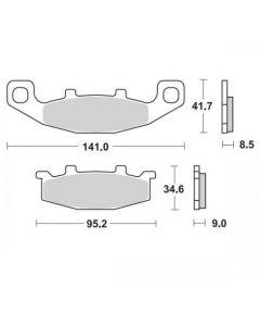 Moto-Master Remblokken Voor Ceramic 402004