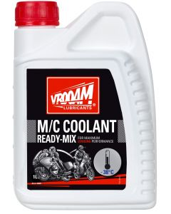 Vrooam Coolant Ready-Mix 1ltr