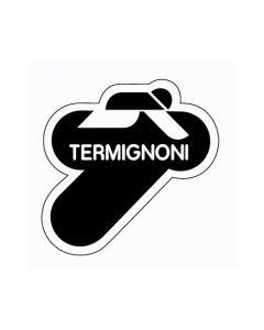 Termignoni Sticker 60X60 Zwart
