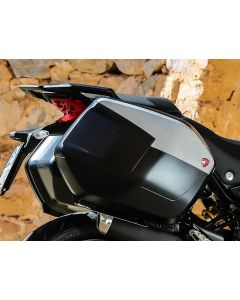 Ducati Zijkoffer Cover Glossy Grey Multistrada 950 (15-)