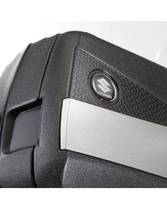 Suzuki Zijkofferset Kunststof (30 + 40 Liter) V-Strom DL 650 / XT
