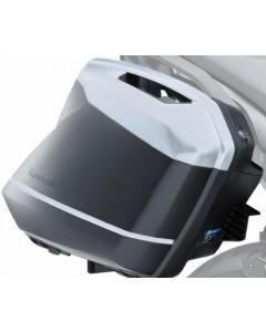 Kawasaki Zijkoffer Covers (40x Pearl Flat Stardust White)