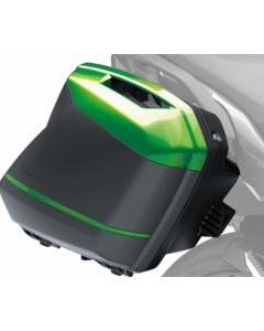 Kawasaki Zijkoffer Covers Groen
