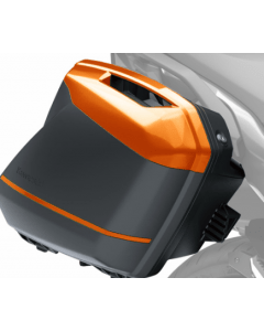 Kawasaki Zijkoffer Deco Streep Oranje
