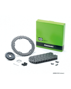Kawasaki Ketting- en Tandwielset