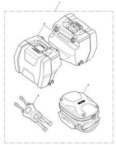 Triumph Pannier & Tank Bag Promo Kit