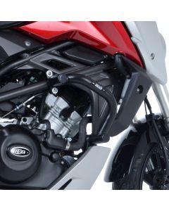 R&G AB0037BK Valbeugels Adventure Zwart Honda CB125R 18- / CB300R 18-