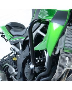 R&G AB0047BK Valbeugels Adventure Zwart Kawasaki Z125 19-