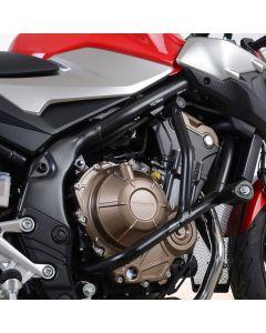 R&G AB0053BK Valbeugels Adventure Zwart Honda CB500F 19- / CB500X 19- / CB400X 19-