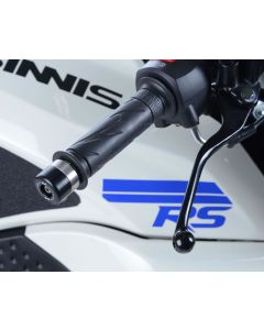 R&G BE0107BK Stuurdoppen Zwart SINNIS ELITE RS 125 17-