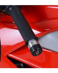 R&G BE0116BK Stuurdoppen Zwart Ducati V4(S) PANIGALE