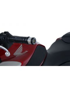 R&G BE0117BK Stuurdoppen Zwart Honda CB125R 18-