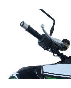 R&G BE0122BK Stuurdoppen Zwart Kawasaki VERSYS 1000 19-