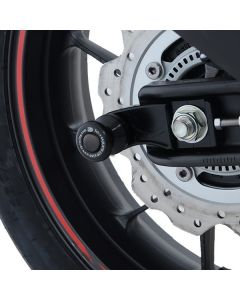 R&G CR0076BK Cotton Reels Bobbins Offset Zwart Honda CBR500R 19-