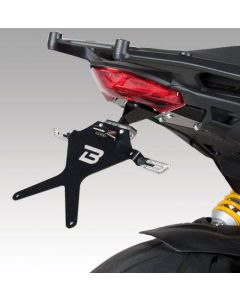 Barracuda Kentekenplaathouder Ducati Multistrada 1200 /S/Grandturismo/Pikes Peak (11-14)