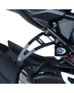 R&G EH0087BKA Uitlaatsteun met afdekplaat Zwart Honda CB300R 18-
