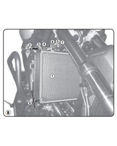 GIVI PR2132 Radiator Bescherming Yamaha MT-09