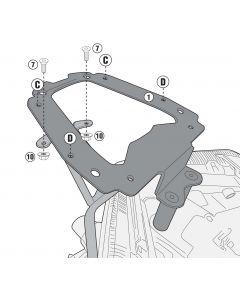 GIVI SR2138 Topkofferrek Monolock/Key Yamaha X-Max 400 (18-19)