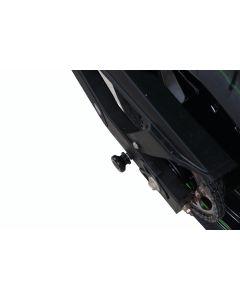 R&G CR0068WH Cotton Reels Bobbins Wit Kawasaki (Niet voor OEM uitlaat geschikt)