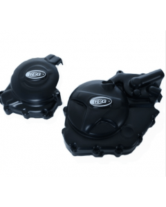 R&G KEC0119BK Motorblok Cover Set Suzuki SV650 16- / SV650X (Paar)