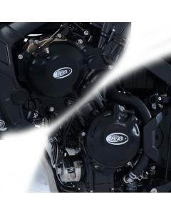 R&G KEC0121BK Motorblok Cover Set Honda CB(R)650F CB(R)650R 19- (Paar)
