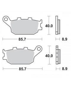 Moto-Master Remblokken Achter Ceramic 403104