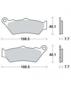 Moto Master Remblokken Ceramic 403304
