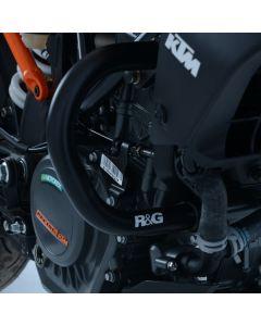 R&G AB0038BK Valbeugels Adventure Zwart KTM 390 DUKE 18- / 250 DUKE 18-