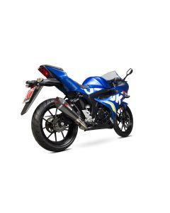 Scorpion Serket Taper Uitlaatsysteem Carbon Suzuki GSX-R 125/150 (17-19)