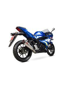 Scorpion Serket Taper Uitlaatsysteem Titanium Suzuki GSX-R 125/150 (17-19)