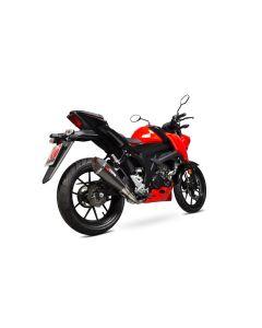 Scorpion Serket Taper Uitlaatsysteem Carbon Suzuki GSX-S 125/150 (17-19)