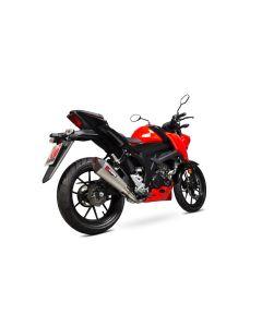 Scorpion Serket Taper Uitlaatsysteem Titanium Suzuki GSX-S 125/150 (17-19)
