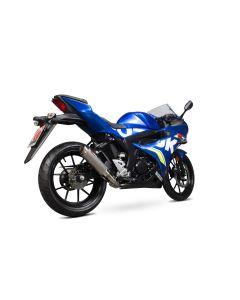 Scorpion RP1-GP Uitlaatsysteem Titanium Suzuki GSX-R 125/150 (17-19)