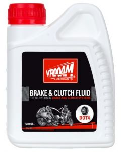 Vrooam Brake Fluid DOT4 0.5ltr