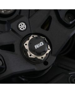 R&G YTI0013BK Kroonplaatmoer Dop Zwart Kawasaki H2 SX