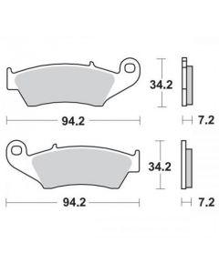 Moto-Master Remblokken Voor Ceramic 403904