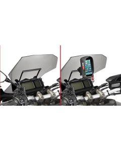 GIVI FB2122 Accessoiressteun voor S902A/GPS-Houder Yamaha Tracer 900